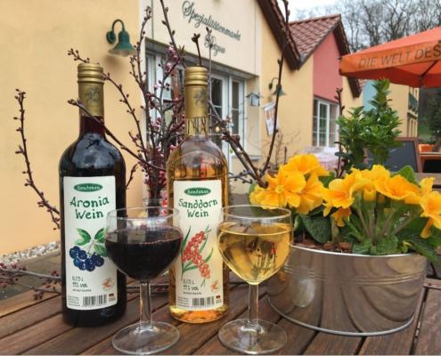 Aronia-und Sanddornwein