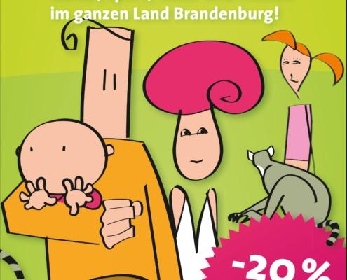 Titel Familienpass Brandenburg
